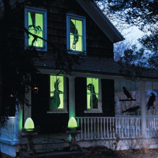 Halloween Window Decorations