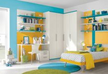 New  Joyful Kids Room Design Ideas With Blue And Yellow Tones