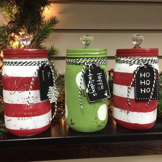 37 Diy Mason Jar Christmas Decorations Ultimate Home Ideas