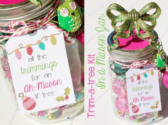 37 diy mason jar christmas decorations ultimate home ideas for Cute mason jar christmas gift ideas