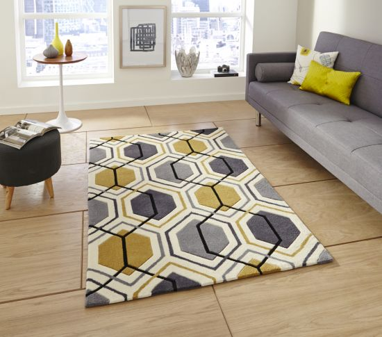 35 Beautiful Geometric Rugs For Living Room | Ultimate Home Ideas