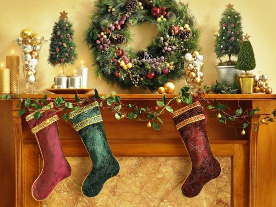 37 Inspiring Christmas Mantel Decorations Ideas