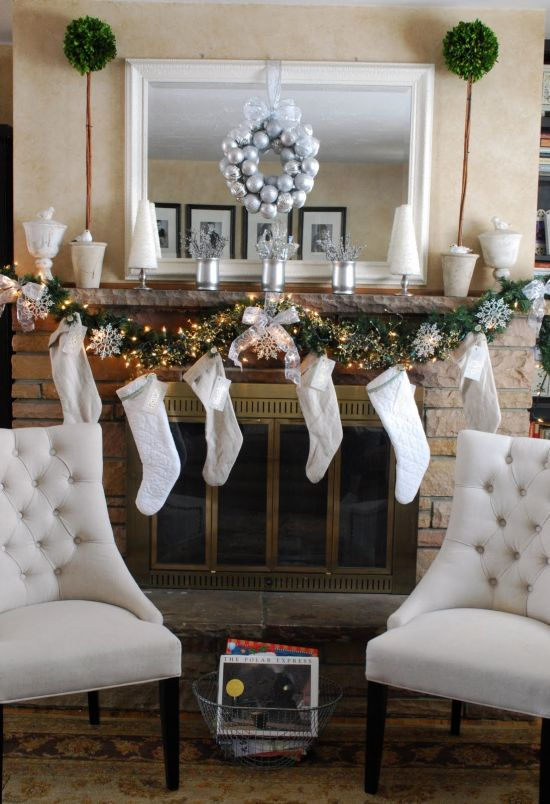 37 Inspiring Christmas Mantel Decorations Ideas Ultimate