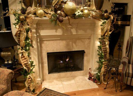 Christmas Mantel Garland