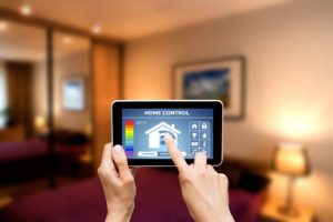 home security touchpad