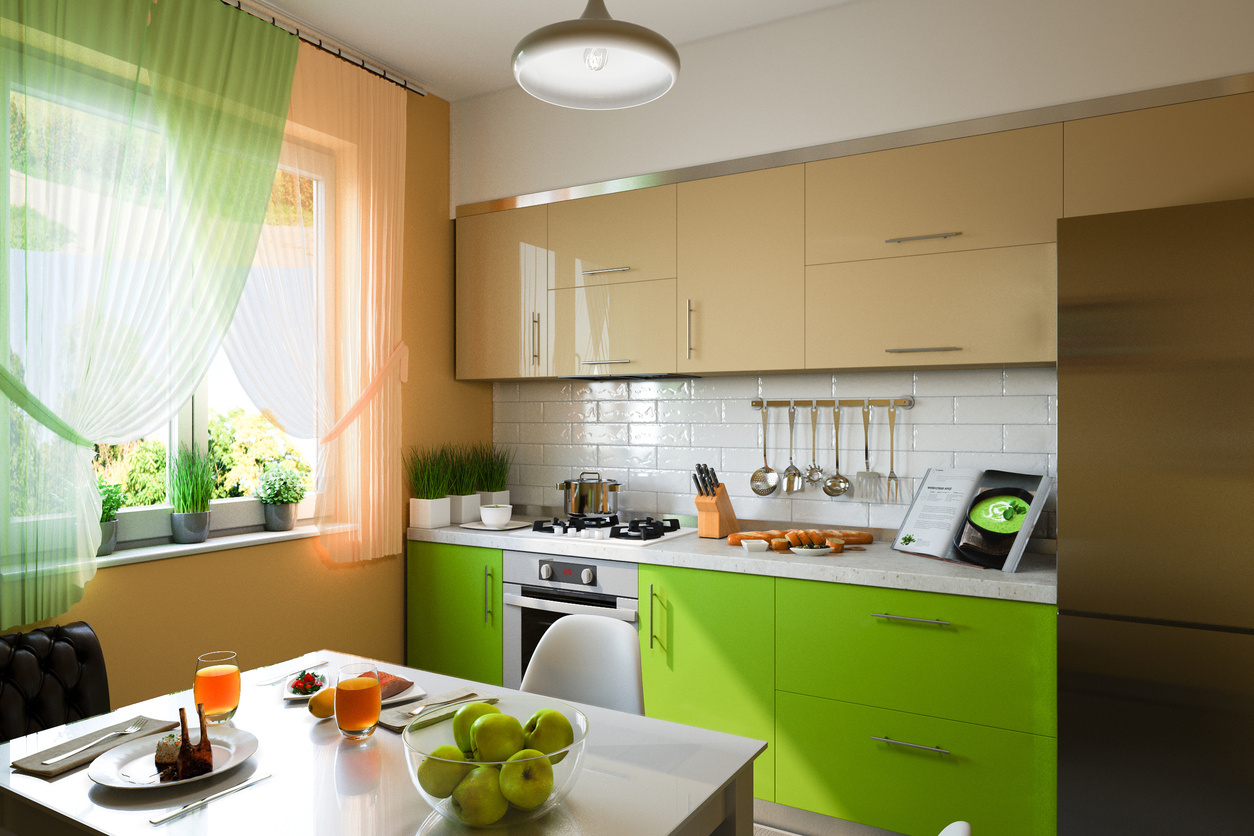 Bring color to your kitchen for a fresh and new look for Casa de muebles wilde