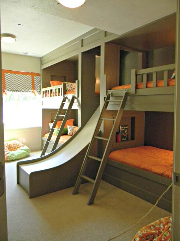Bunk bed for 4 kids
