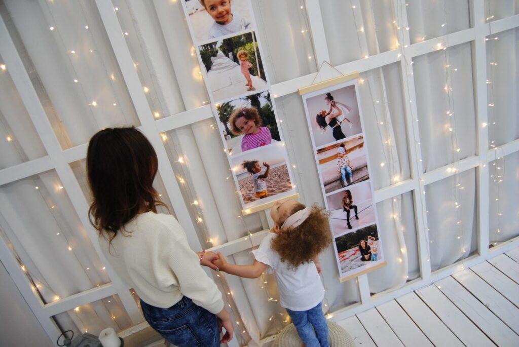 photo art baby room