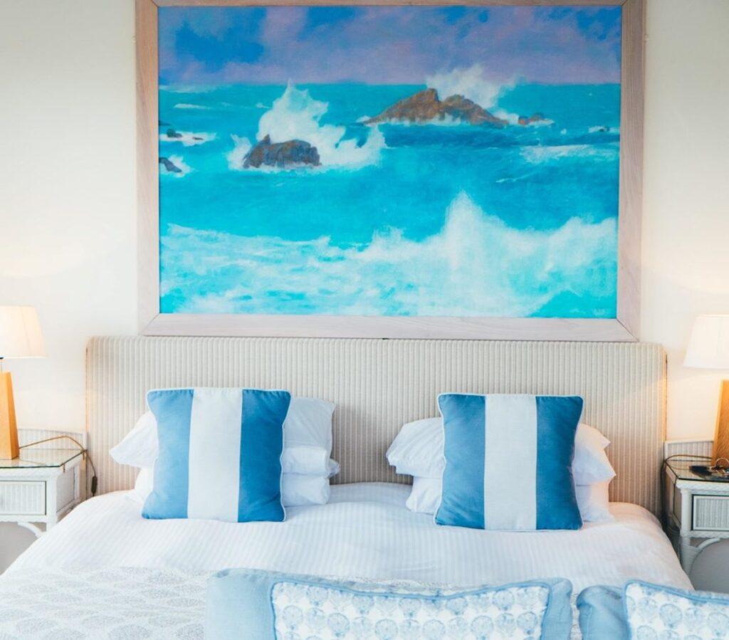 Beach themed home décor
