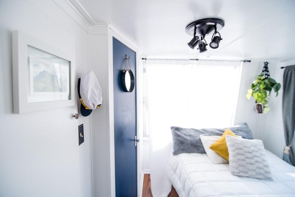 Beach inspired room.